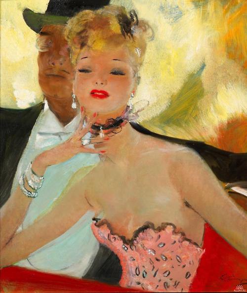 French Painter Jean-Gabriel Domergue