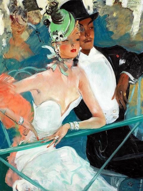 Noir Art Jean-Gabriel Demargue