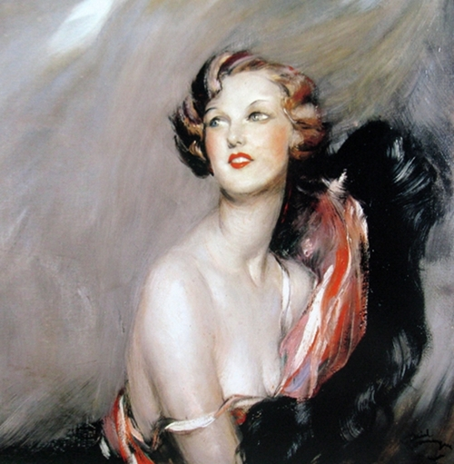 Portrait of Madame O-Deril 1930 Jean-Gabriel Domergue
