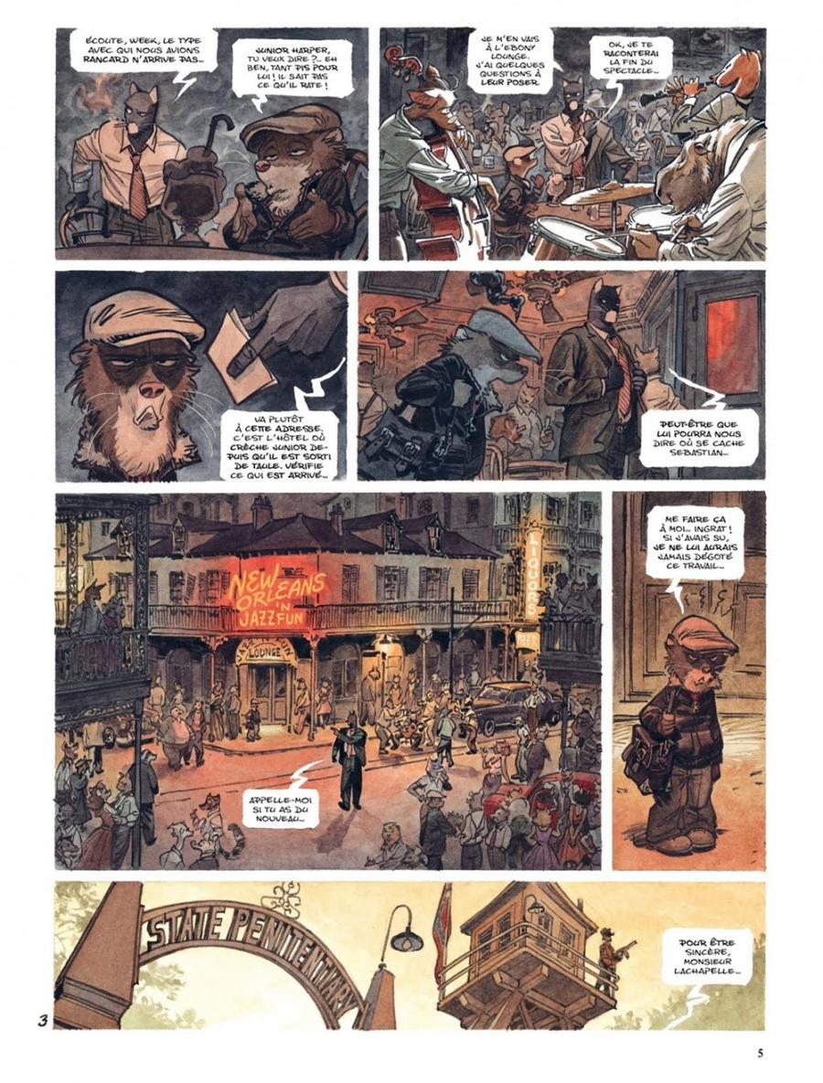 Blacksad A Silent Hell Noir Comics