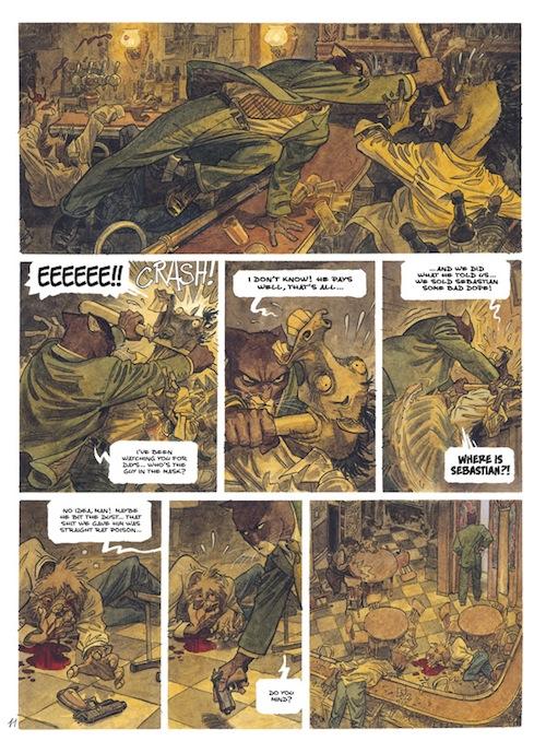 Noir Comics Blacksad A Silent Hell