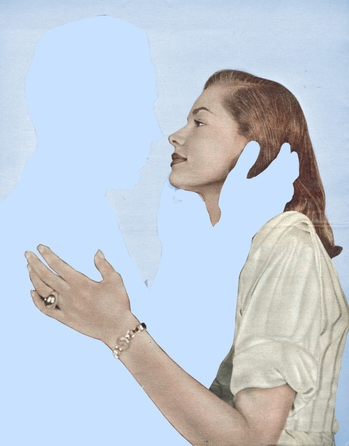 Joe Webb Collage Absent Minded