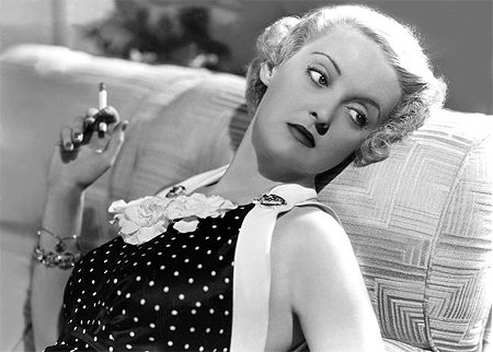 Bette Davis Smoking