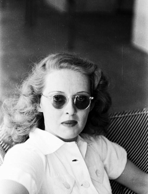 Actress Bette Davis