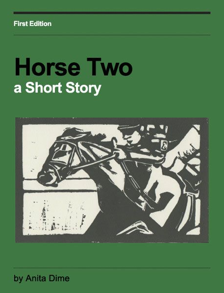 Noir Crime Fiction Horse Two by Anita Dime