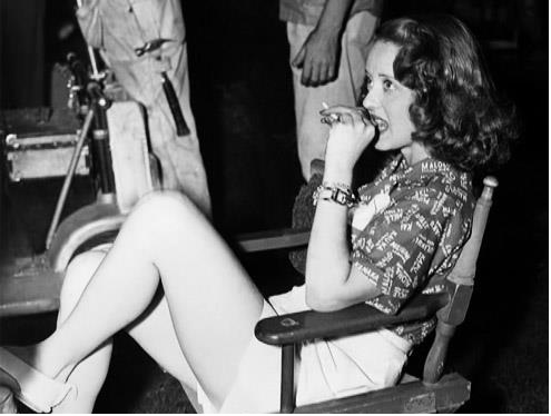 Bette Davis Backstage