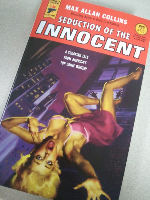 Noir Crime Fiction Seduction of the Innocent by Max Allan Collins