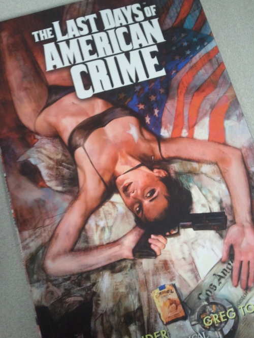 Noir Comics The Last Days of American Crime