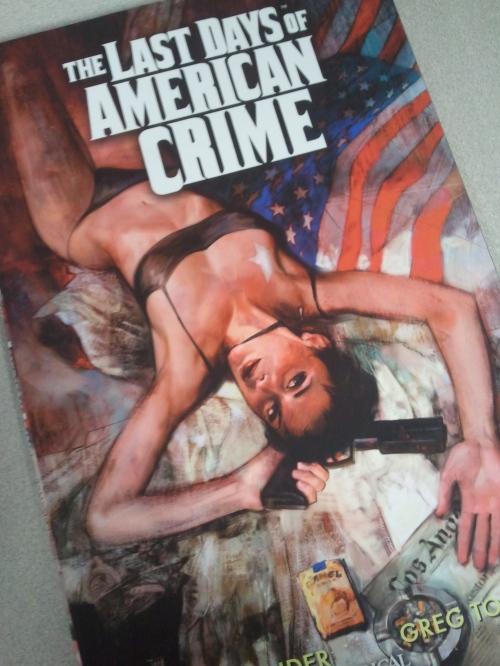 Noir Comics The Last Days of American Crime