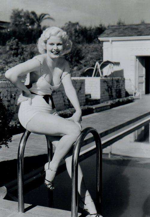 Jean Harlow Swim Suit