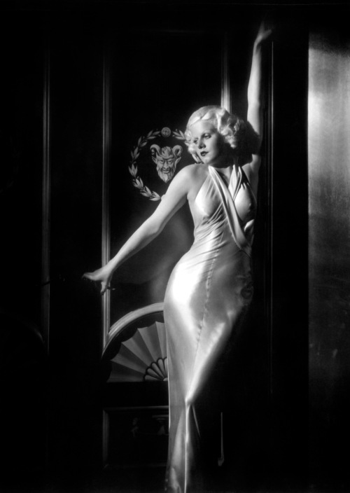 Jean Harlow George Hurrell 1933 Dinner At Eight