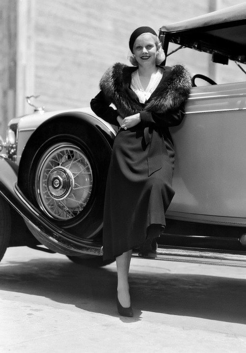 American actress Jean Harlow