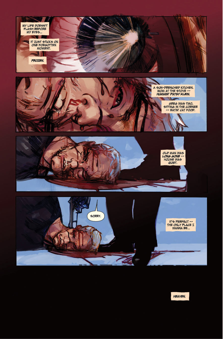 Noir Comics The Last Days Of American Crime By Rick Remender And Greg Tocchini Noirwhale