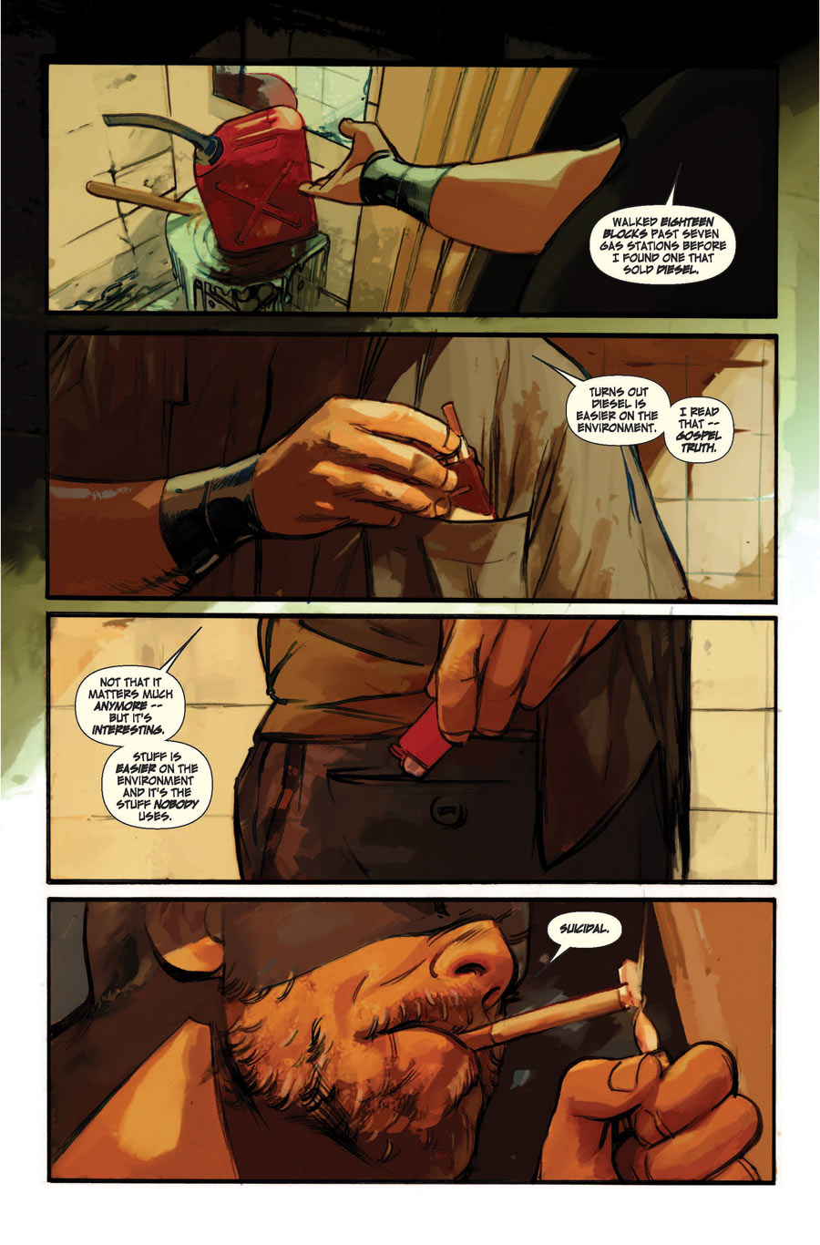 The Last Days of American Crime Rick Remender and Greg Tocchini