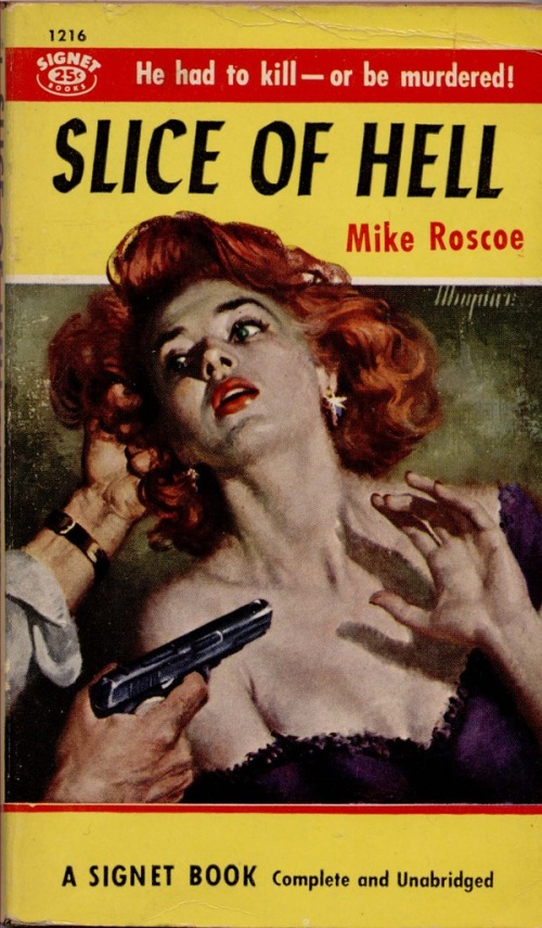 Slice of Hell by Mike Roscoe Cover by Robert Maguire