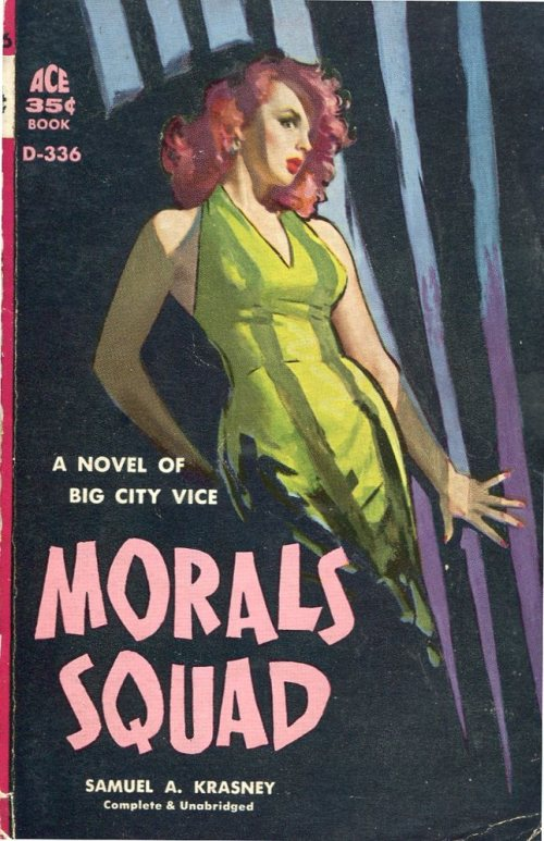 Morals Squad by Samuel A. Krasney Cover by Robert Maguire