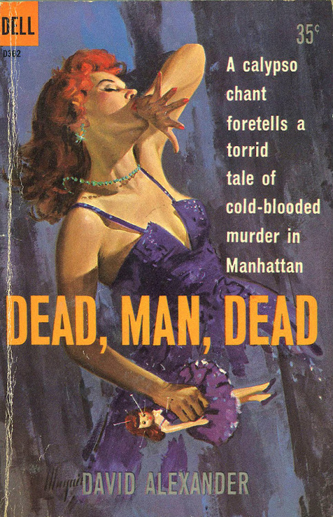 Dead Man Dead by David Alexander Cover by Robert Maguire
