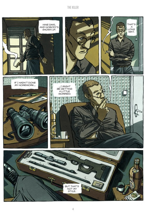 Noir Comics The Killer