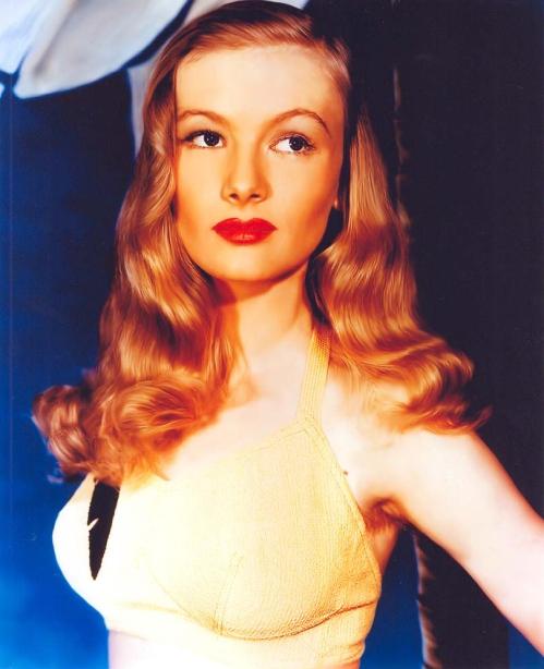 Actress Veronica Lake