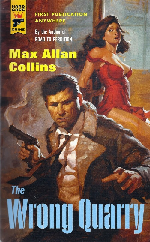 Cover Image of The Wrong Quarry by Max Allan Collins